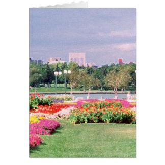 Regina - Gesetzgebungsgärten gemalt Karte