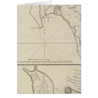 Region Mexiko San Diego Bucht-Regions-Sans Blas Karte