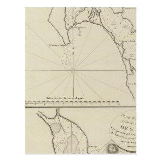 Region Mexiko San Diego Bucht-Regions-Sans Blas Postkarte