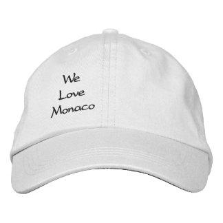 Regulierbare Mütze Bestickte Kappe