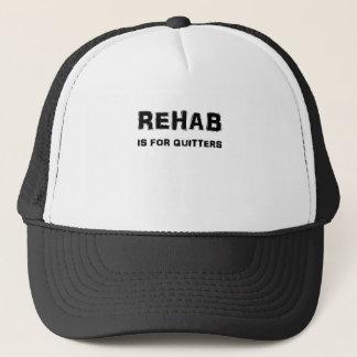 Rehabilitation ist für Drückeberger Truckerkappe
