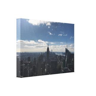 Reich-Staats-New- YorkLeinwand Manhattan Leinwanddruck
