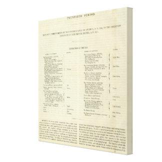Reich von Napoleon Bonaparteanzeige 1811 Leinwand Drucke