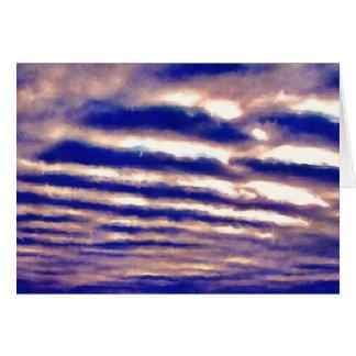 Reihen der Wolken Karte