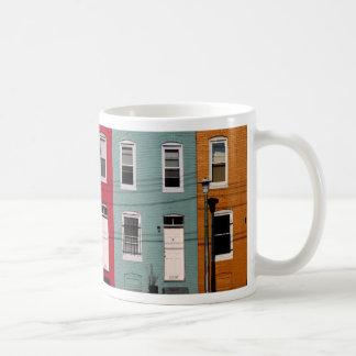 Reihen-Häuser II Tasse