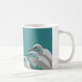 Reiher Kaffeetasse