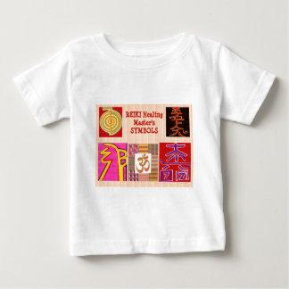 REIKI heilende KUNST Vorlagensymbole - durch Baby T-shirt