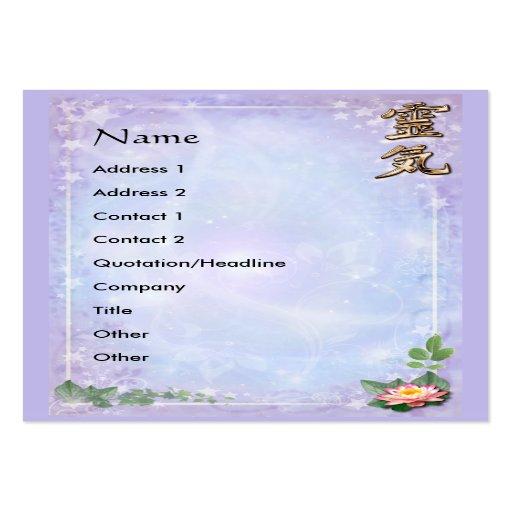 Reiki mini visitenkarten zazzle for Visitenkarten gratis vorlagen