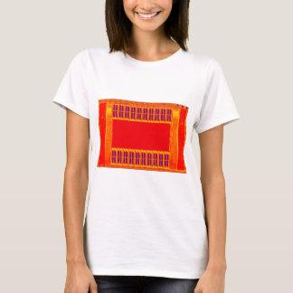 Reiner Safran Durga religiöser hindischer T-Shirt