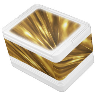 REINES GOLDmuster/GoldGlanz Igloo Kühlbox