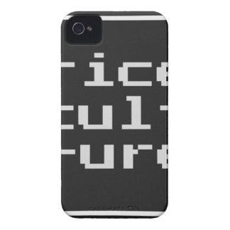Reis-Kultur mit Rahmen iPhone 4 Cover