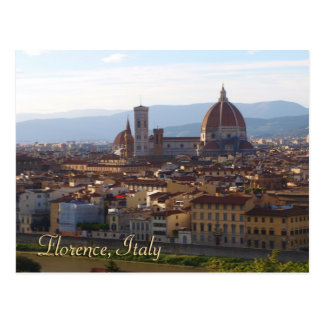 Reise-Andenken-Geschenk Florenz Italien Postkarte