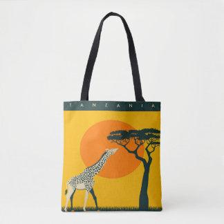 Reise-Ferien-Tasche Afrikas Girafe Tanzania