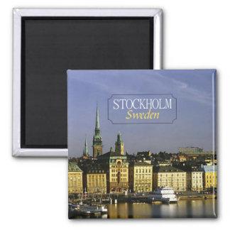 Reise-Foto-Kühlschrankmagnet Stockholms Schweden