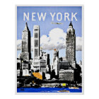 Reise New York Amerika Vintag Poster