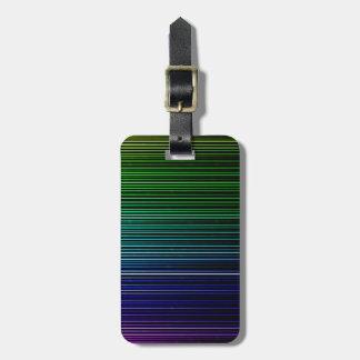 Reise-Regenbogen-Licht-Streifen Kofferanhänger