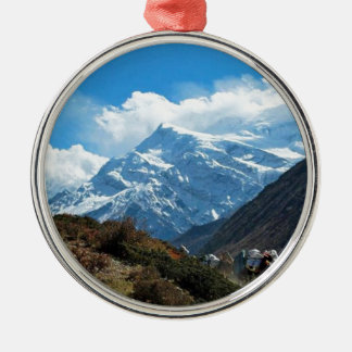 Reise-Sommer Himalaja-Mount Everest-Indiens Nepal Silbernes Ornament