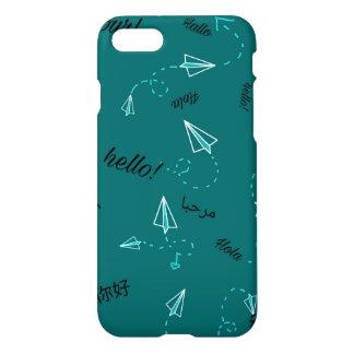 Reise-themenorientiertes Telefon Hüllen-Aquamarin iPhone 8/7 Hülle