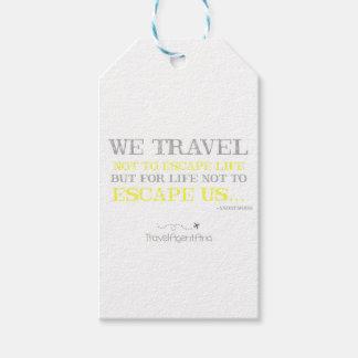 Reise-Zitat Geschenkanhänger