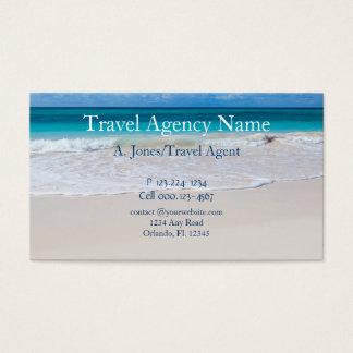 Reisebüro Visitenkarte