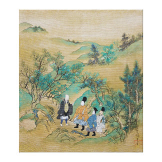 Reisen nach dem Osten durch Sumiyoshi Jokei Leinwanddruck
