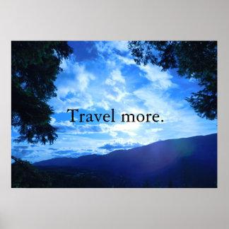 Reisen Sie mehr Poster