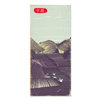 Reiseplakat der alten Art der China Vintages Fotodruck