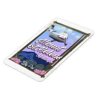 Reiseplakat des Mount Saint Helens Washington Magnet