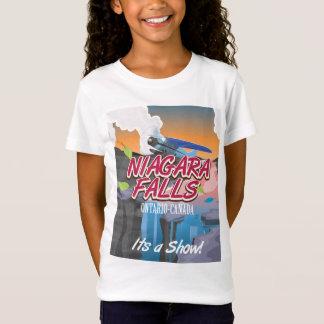 Reiseplakat Niagara Falls Ontario Kanada T-Shirt