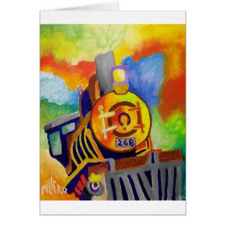 Reiten dieses Zugs durch Piliero Karte