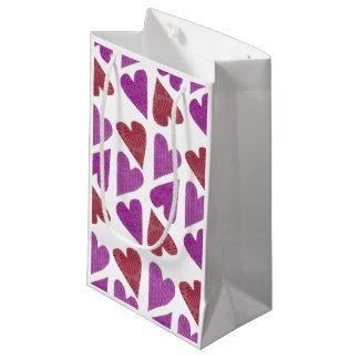 Reizende Herz-Geschenk-Tasche Kleine Geschenktüte