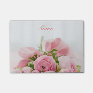 Reizende rosa Rosen Post-it Klebezettel