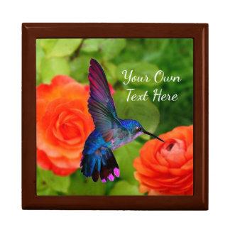 Reizender Kolibri Erinnerungskiste