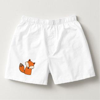 Reizender roter Fuchs Herren-Boxershorts