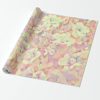 Reizendes Blumen36b Geschenkpapierrolle