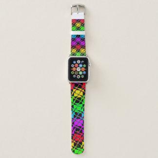 Reizendes helles Wasser-Farbspiegel-Bild Apple Watch Armband