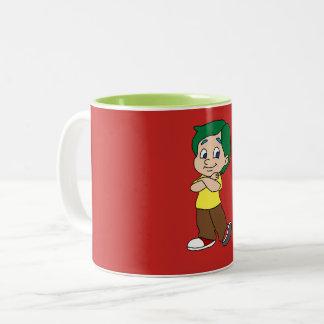 reizendes Kind Zweifarbige Tasse