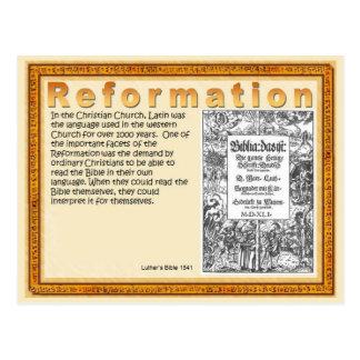 Religion, Christentum, Schriften, Verbesserung Postkarte