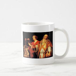 Religiöse Allegorie durch Jacob Jordaens Kaffeetasse