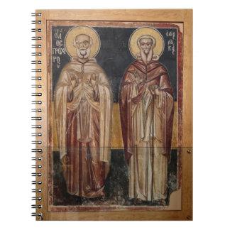 Religiöse christliche Kunst Notizblock