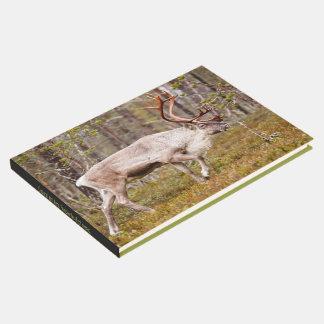 Ren, das in Wald geht Gästebuch