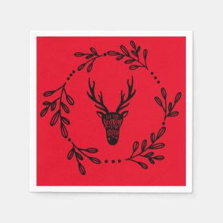 Ren-personalisierte Weihnachtsservietten Papierservietten