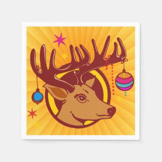 Ren/Rotwild/Weihnachten + Ihre Idee Papierservietten