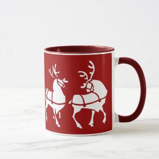 Ren-Tassen-Kaffeetasse-festliche Tasse