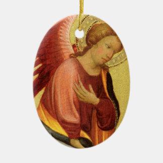 Renaissance-Engel durch Meister des Bambino Vispo Keramik Ornament