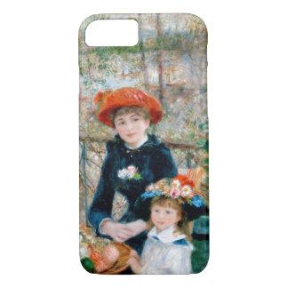 """Renoir """"zwei Schwestern (auf der Terrasse) """" iPhone 8/7 Hülle"""