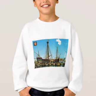"Replik Caravel, Flaggschiff ""Santas Maria"" Sweatshirt"