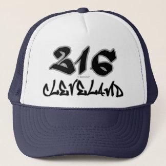 Repräsentant Cleveland (216) Truckerkappe