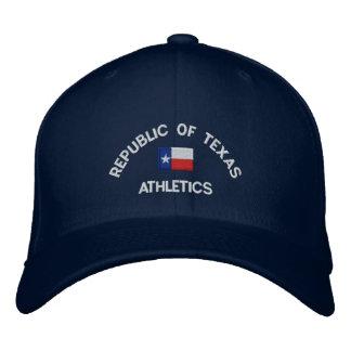 Republik kundengebundenen gestickten Hutes Texas Bestickte Baseballkappe