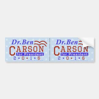 Republikaner 2016 Dr.-Ben Carson Präsidenten-Wahl Autoaufkleber